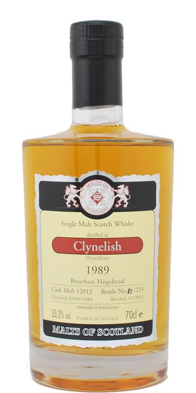 Clynelish 1989 MoS