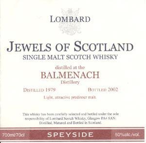Balmenach 1979 Lb