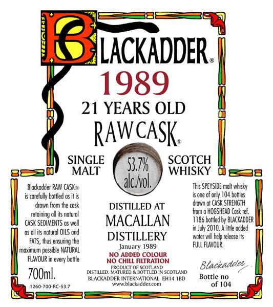 Macallan 1989 BA