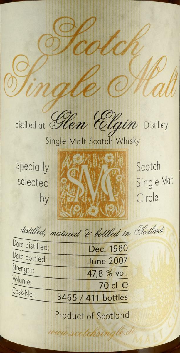 Glen Elgin 1980 MC