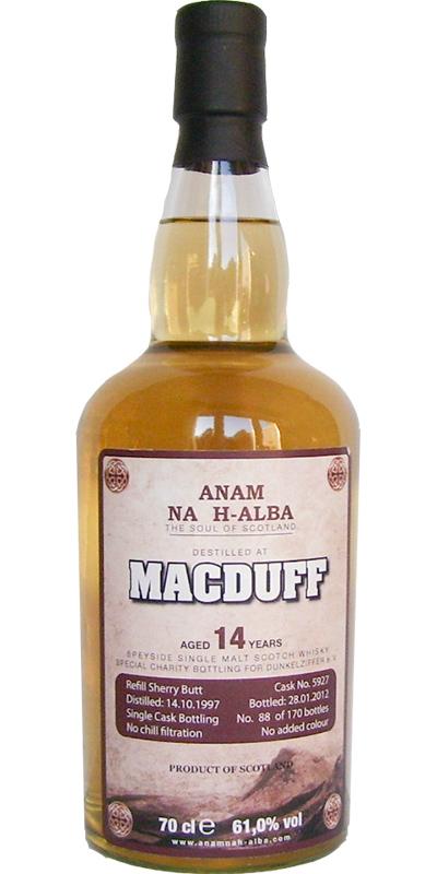Macduff 1997 ANHA