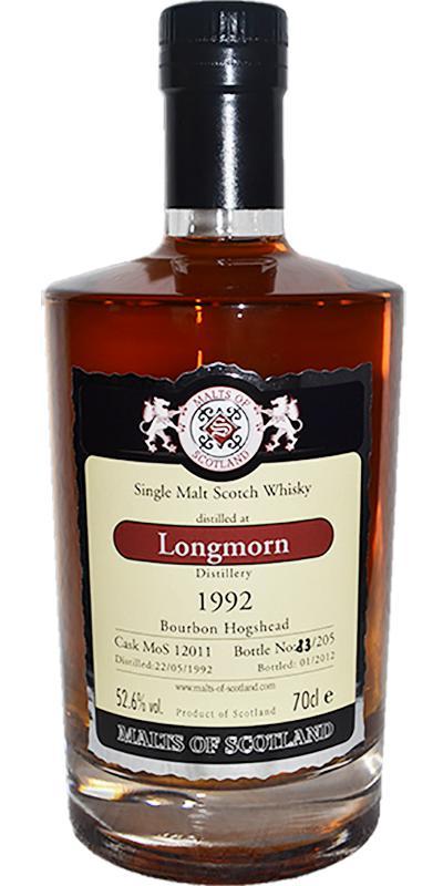 Longmorn 1992 MoS