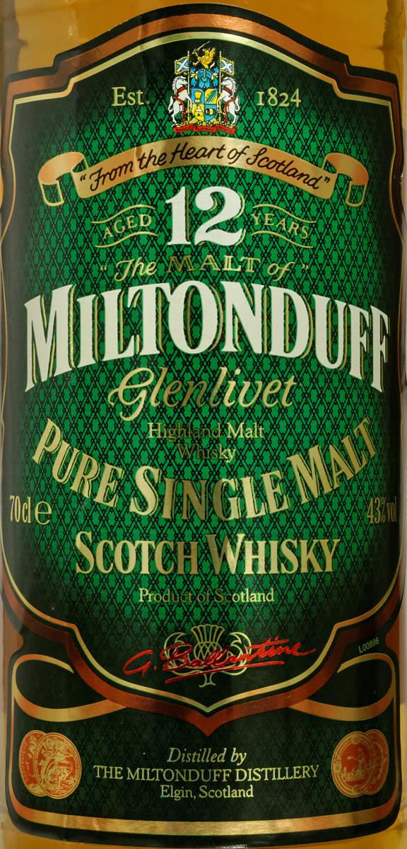 Miltonduff 12-year-old