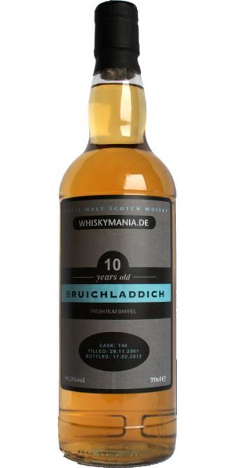 Bruichladdich 2001 Wm.de
