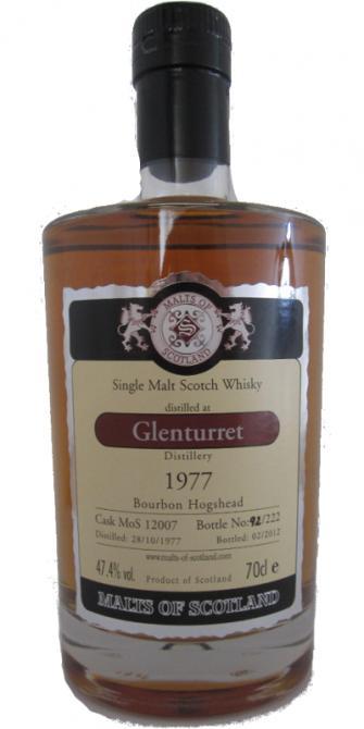Glenturret 1977 MoS