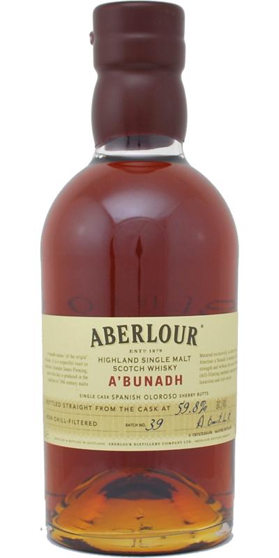 Aberlour A'bunadh batch #39