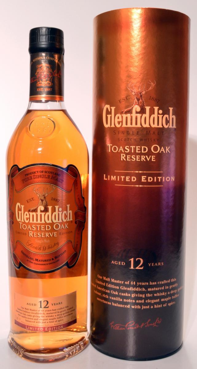 Glenfiddich Toasted Oak Reserve