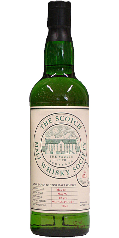 Glen Elgin 1985 SMWS 85.9