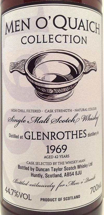 Glenrothes 1969 DT