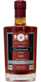 Glendronach 2002 MoS