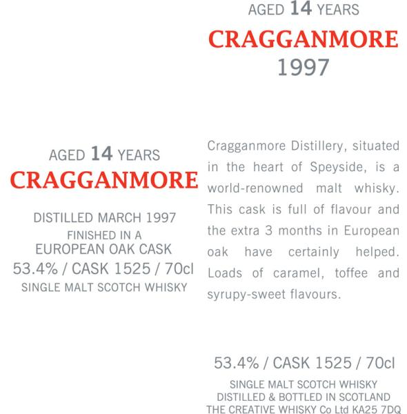 Cragganmore 1997 CWC