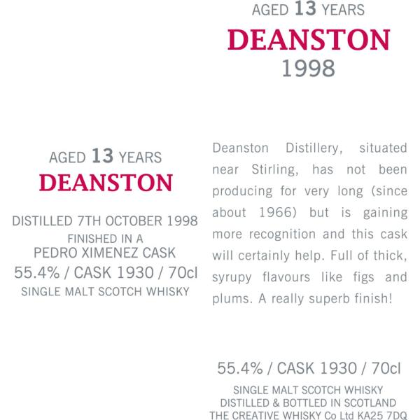 Deanston 1998 CWC