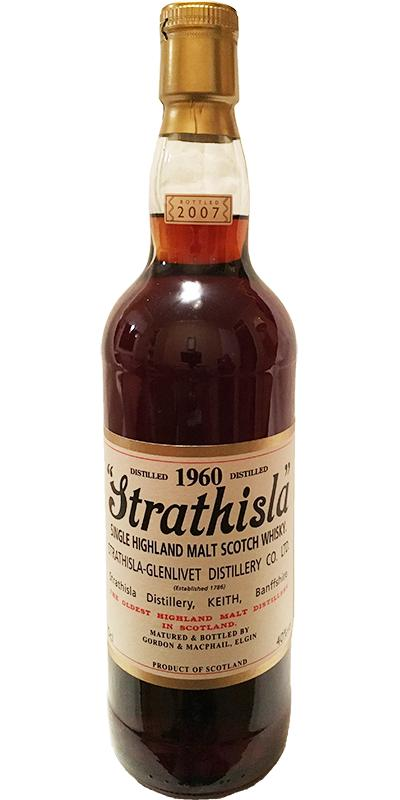 Strathisla 1960 GM
