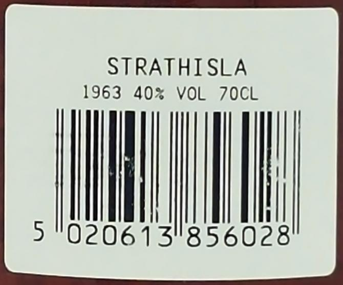 Strathisla 1963 GM