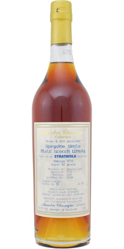 Strathisla 1970 AC