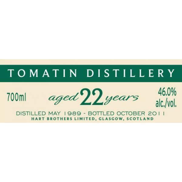 Tomatin 1989 HB