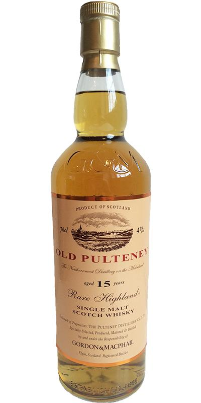 Old Pulteney 15-year-old GM
