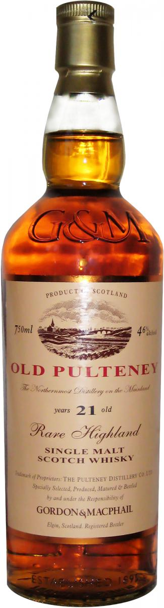 Old Pulteney 21-year-old GM