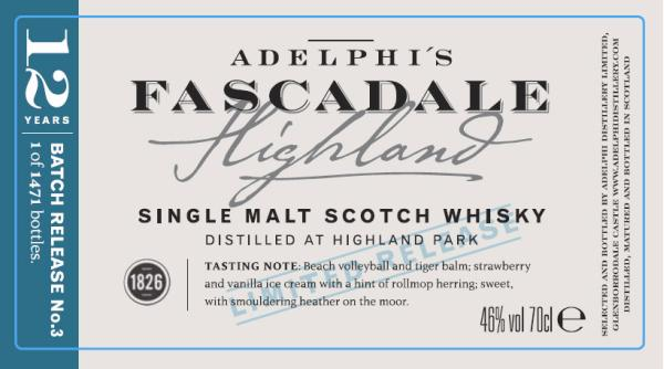 Fascadale Release No. 3 AD