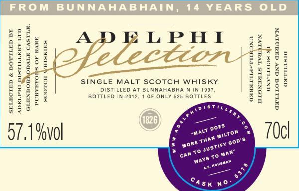 Bunnahabhain 1997 AD