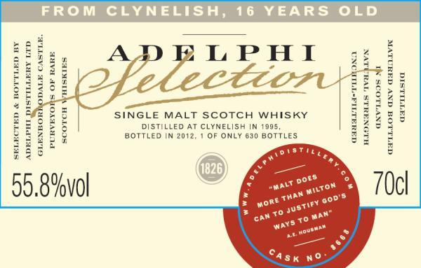 Clynelish 1995 AD