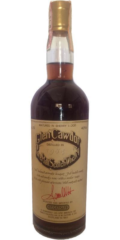 Glen Cawdor 1964 RWD