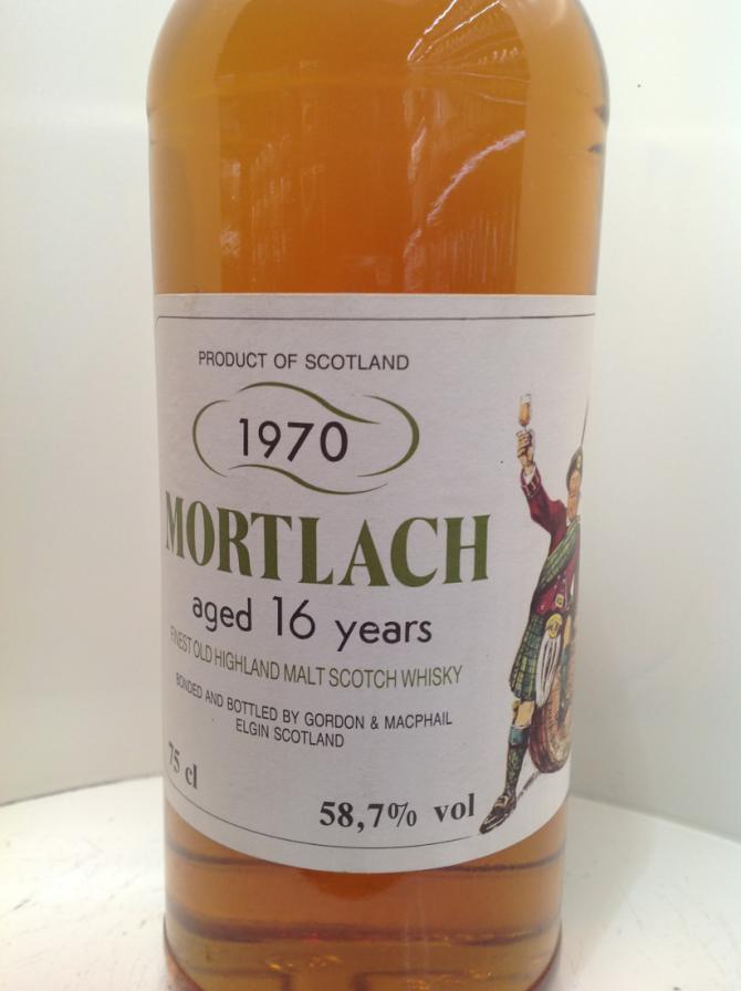 Mortlach 1970 GM