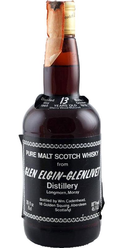 Glen Elgin 1965 CA