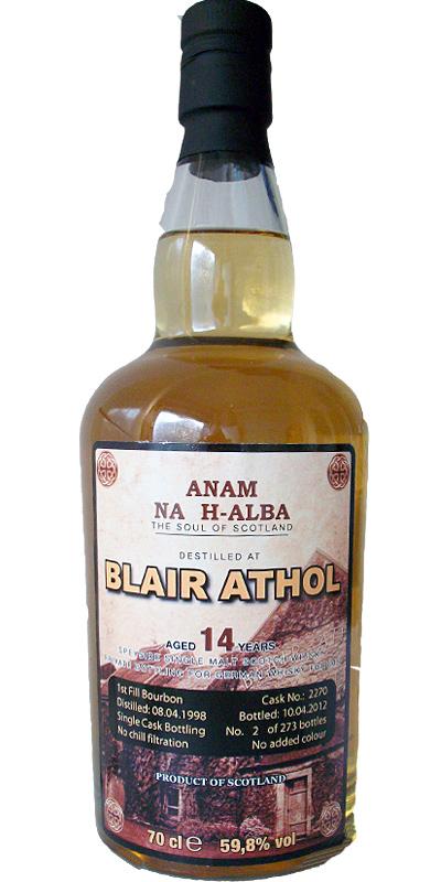 Blair Athol 1998 ANHA