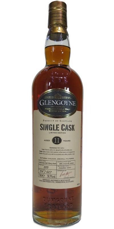 Glengoyne 2000 Sherry