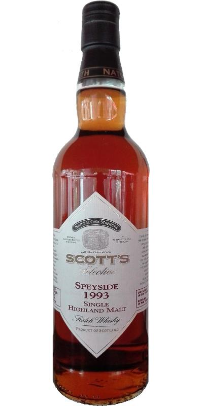 Speyside Distillery 1993 Sc
