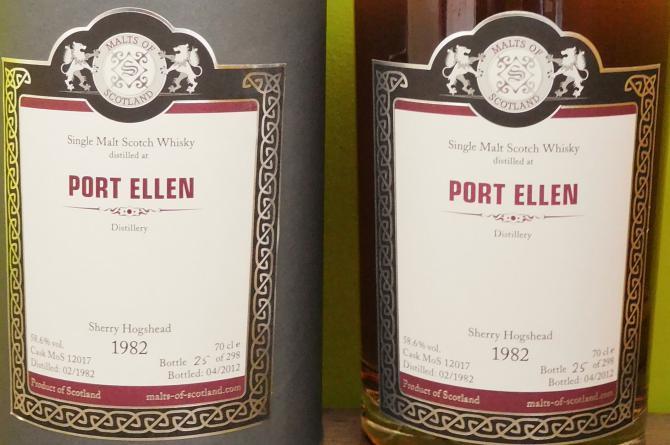 Port Ellen 1982 MoS