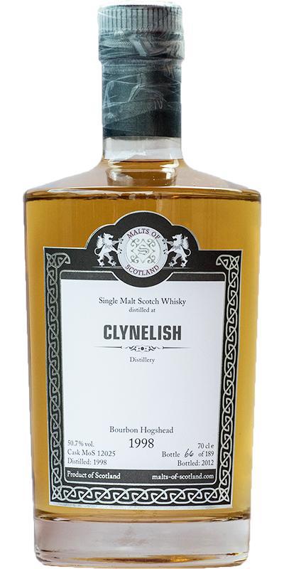 Clynelish 1998 MoS