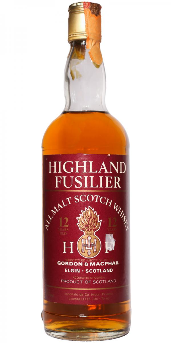 Highland Fusilier 12-year-old GM