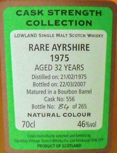 Ayrshire 1975 Rare SV