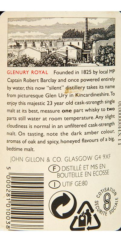 Glenury Royal 1971