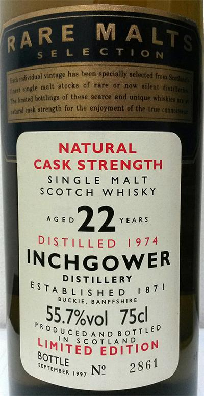 Inchgower 1974