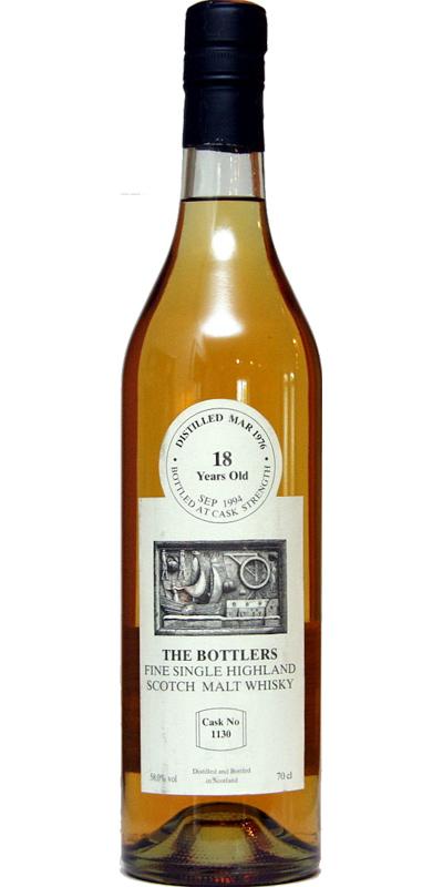 Fine Single Highland Scotch Malt Whisky 1976 TB