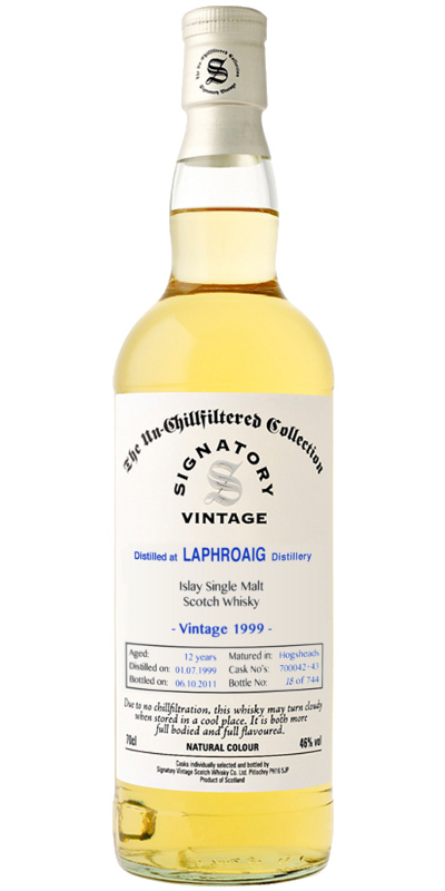 Laphroaig 1999 SV