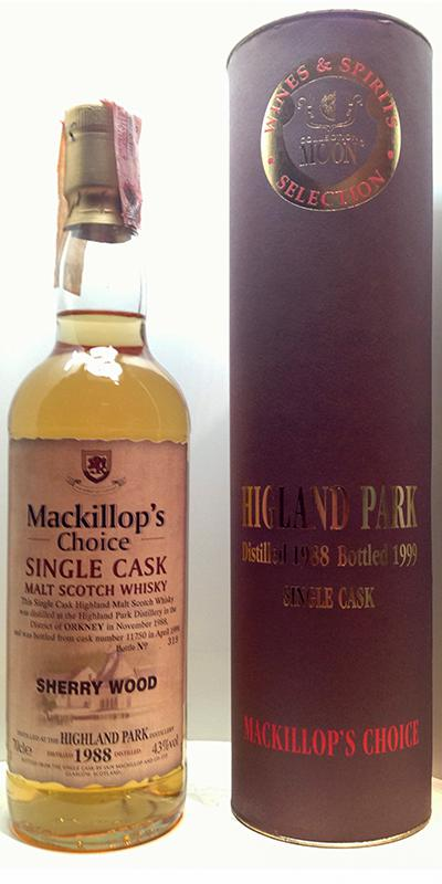 Highland Park 1988 McC