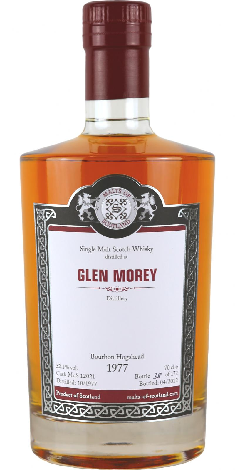 Glen Moray 1977 MoS
