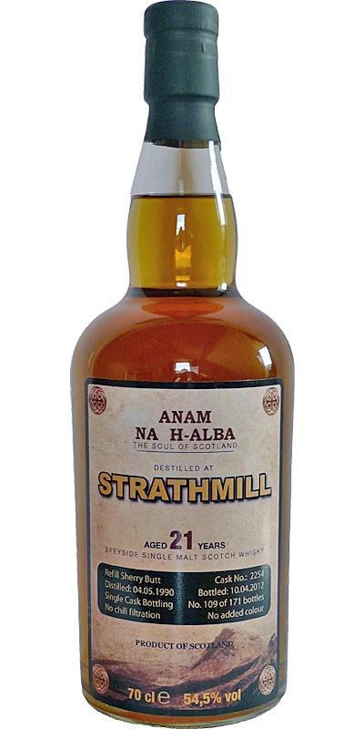 Strathmill 1990 ANHA