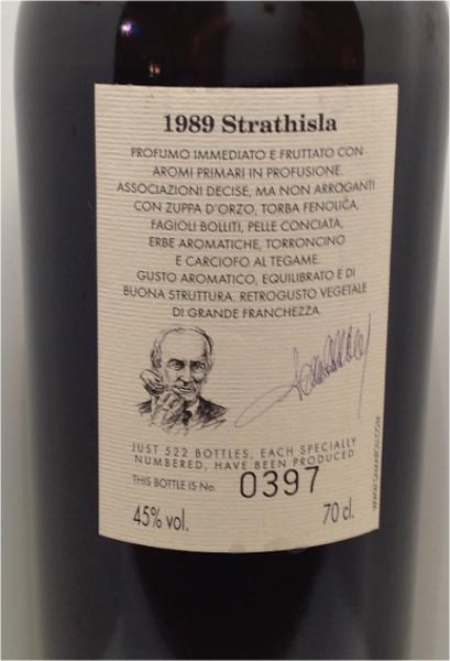 Strathisla 1989 Sa
