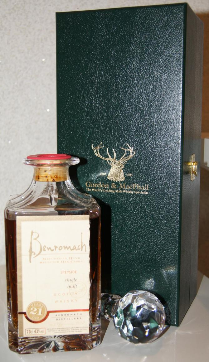 Benromach 21-year-old GM