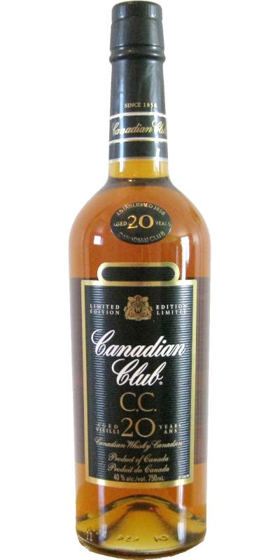 Canadian Club 20-year-old