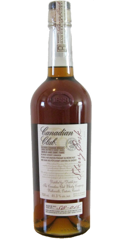 Canadian Club 08-year-old