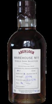 Aberlour 1995 Warehouse No. 1