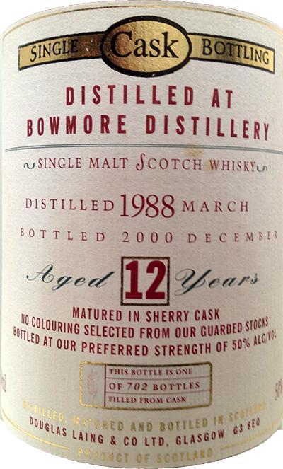 Bowmore 1988 DL