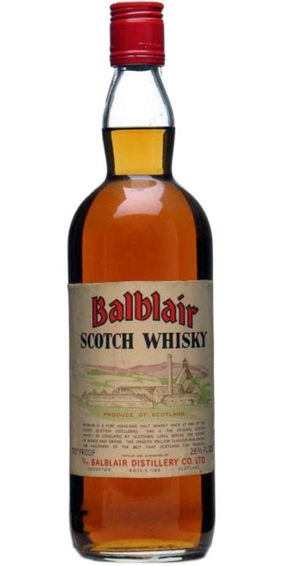 Balblair Scotch Whisky
