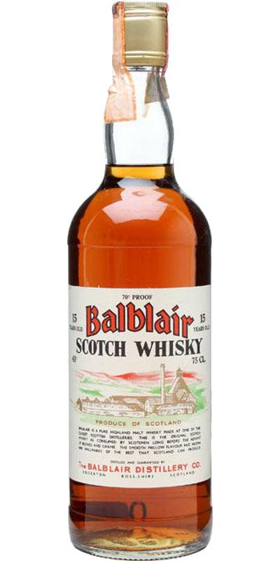 Balblair 15-year-old